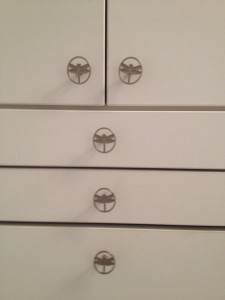dragonfly cabinet knobs