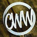 Monogram CWW kitchen knob matte bronze