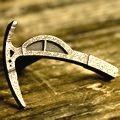 ice axe knob antique steel
